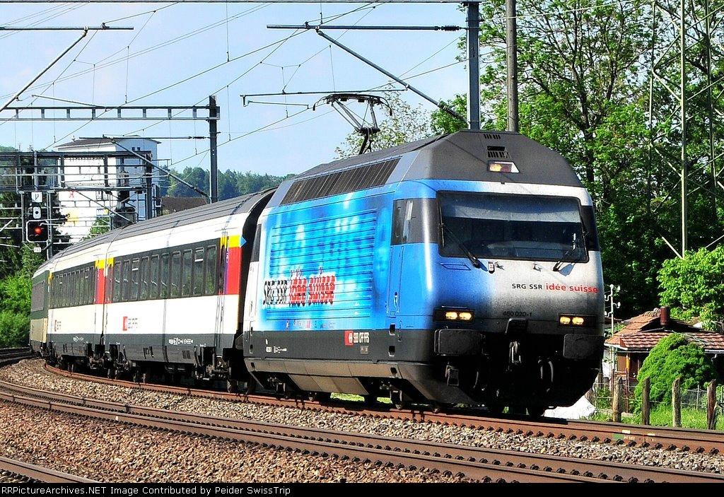 460 020-1 - SBB Swiss Federal Railways