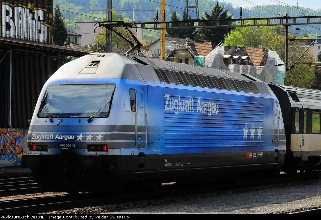460 024-3  - SBB Swiss Federal Railways
