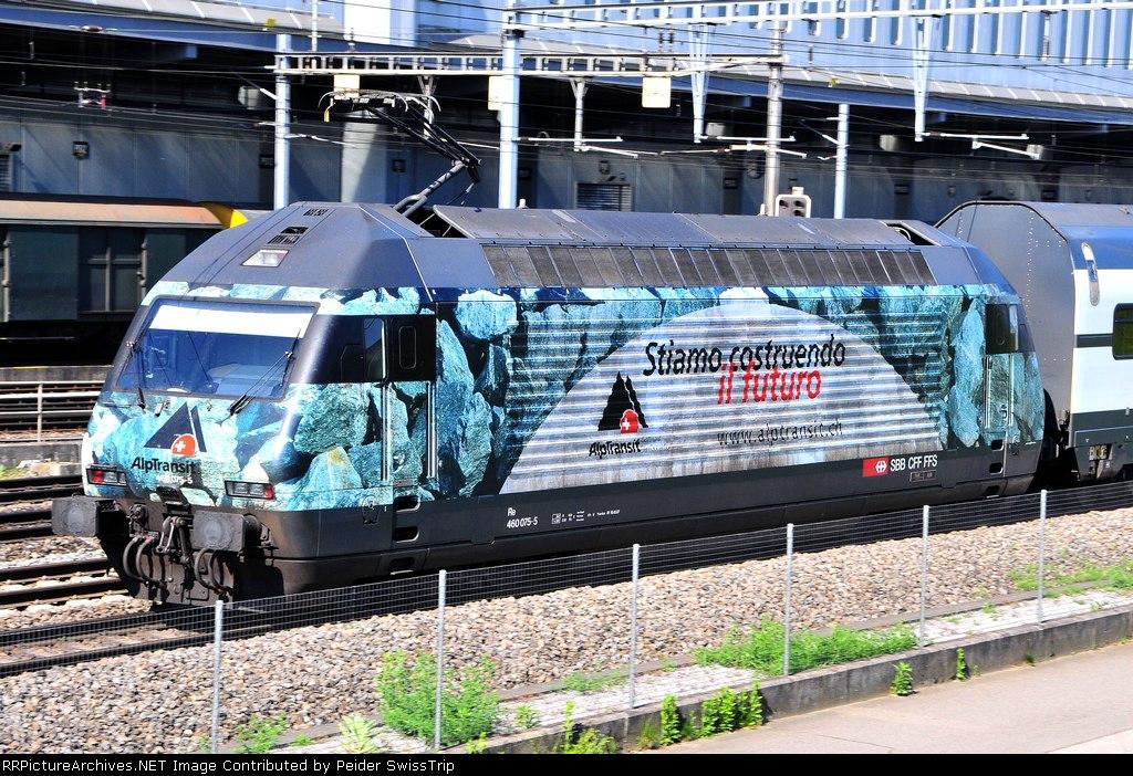 460 075-5 - SBB Swiss Federal Railways