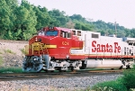 E/B Santa Fe Train