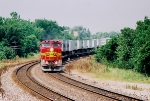 W/B Santa Fe Train