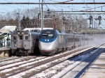 Amtrak Acela 2038 and NJT