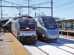Amtrak Acela and NJT
