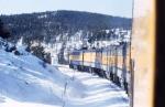 Ski Train at Crescent CO