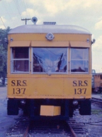 1001-01 Sperry Rail SRS 137 at BN Daytons Bluff Yard
