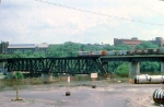 1000-13 SOO Railway Job crosses NP Bridge 9 near C&NW Railway Transfer Yard
