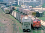 1000-17d SOO Railway Job at C&NW Railway Transfer Yard