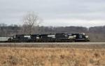 Waiting westbound coal train