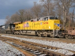 UP 7456 with storm light