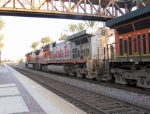 A Santa Fe warbonnet in the mix