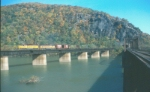 Westbound crosses the Potomac River