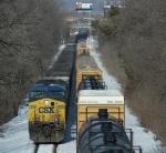 CSX 449  CSX Train Meet