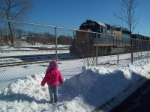 My daughter with CSX 6214