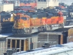 BNSF 8819 and 9292