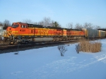 BNSF 4991 and 4505