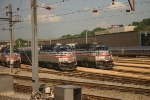 Virginia Railway Express Commuter Trains