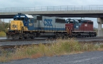 CSX 8521 and HLCX 6069 west end SelkirK Yard