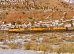 UP 5888, UP 6661 & UP 5955 with coal for Nevada Power,