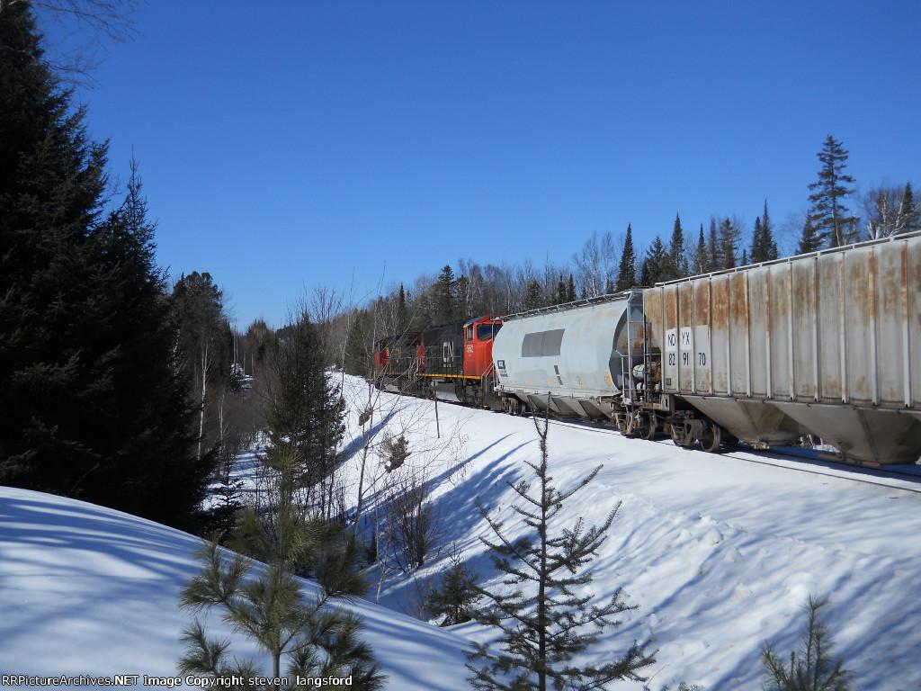 A Scenic View Of CN Train L540
