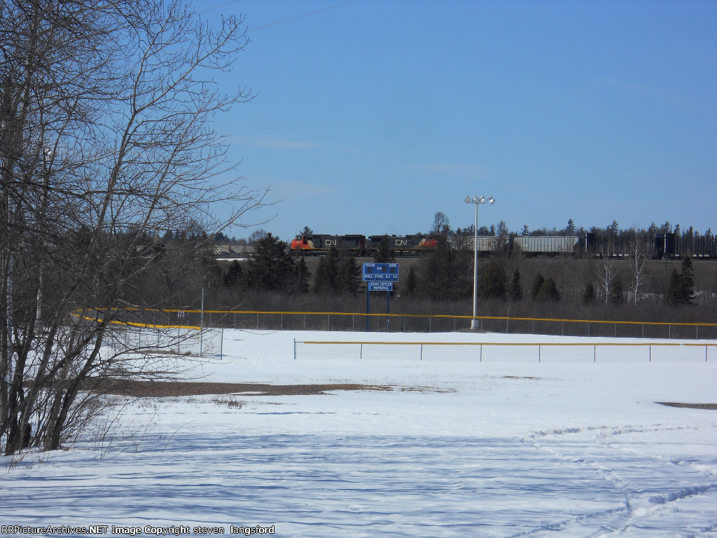 CN Passing The Ball Fields