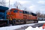BNSF SD70ACe 9272  on old 4 main in Allentown PA
