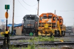 QGRY train at Ste-Therese yard