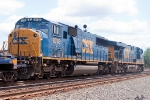 CSX Q190 with a ES40DC & SD60I