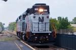 NJT 4302 Pulls a dead PL42 to MMC