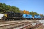 Eras of Conrail blue