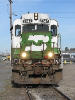 "BNSF2747 I got a face wash! No more ""Jolly Green""."