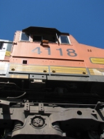 BNSF4118 C44-9W looking up!