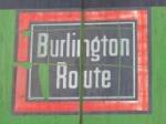 """Burlington Route"" logo on BNSF2075"