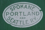 """SP&S"" logo on BNSF2075"