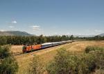 Blue Train near Wellington