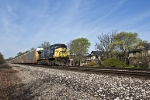 260 with CSX power in Battle Creek