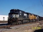 NS Purvis, Mississippi Coal Train at 32 st