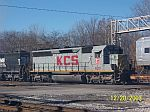 KCS 620 on NS train 339