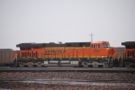 BNSF 6307 sits in the middle of the BNSF Donkey Creek yard waiting for her next train.