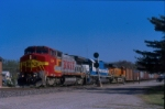 BNSF 558 leads a westbound on the ex-Frisco Cuba Subdivision