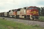 Loaded coal train on NSP spur