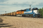 Westbound empties enter yard