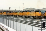 UP 3281 and this bevy of EMD brethern were not part of the boneyard