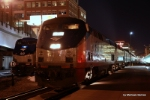 AMTK 45 and eastbound train #6. The California Zephyr