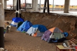 Quite a sophisticated campground for the homeless