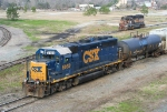CSX 6038 with an awesome horn sound
