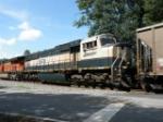 BNSF 9576 (on NS 736)