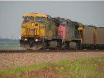 UP 6706 Leading a New Mardrid Coal Load