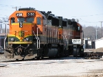 Caution: Locomotives Chocked