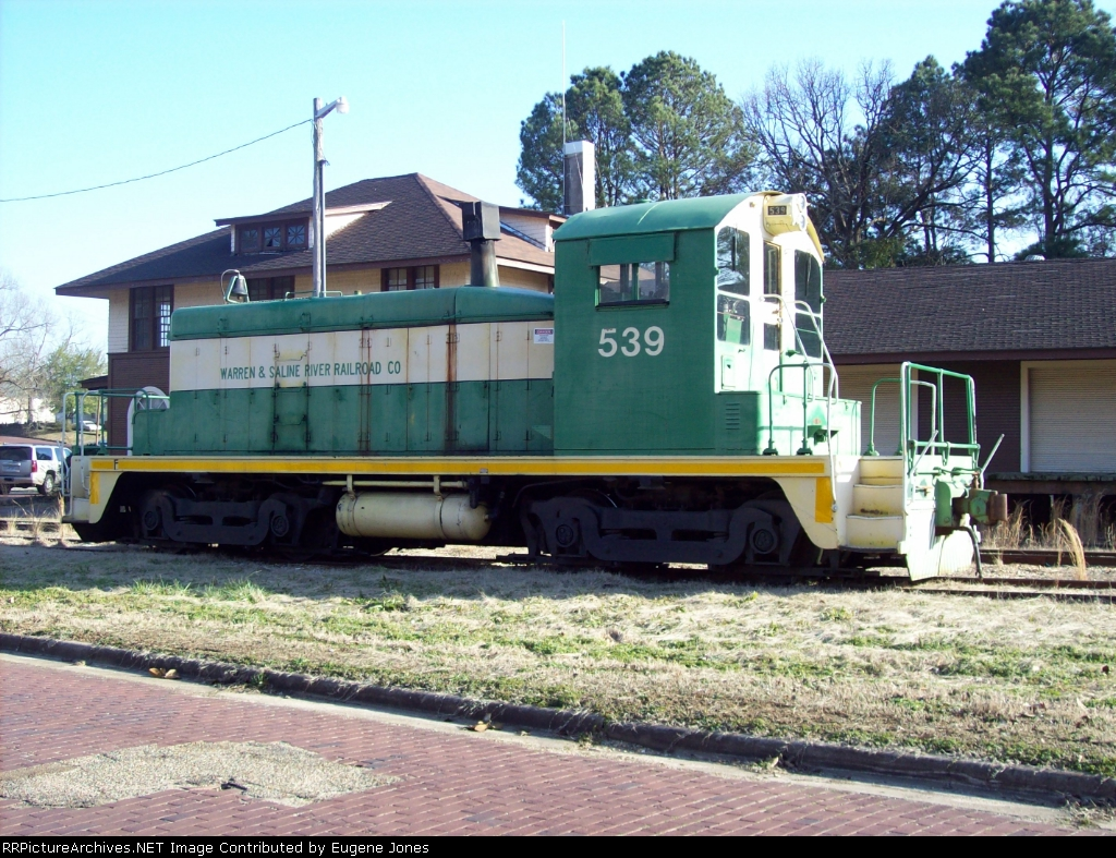 Warren & Saline River Railroad #539