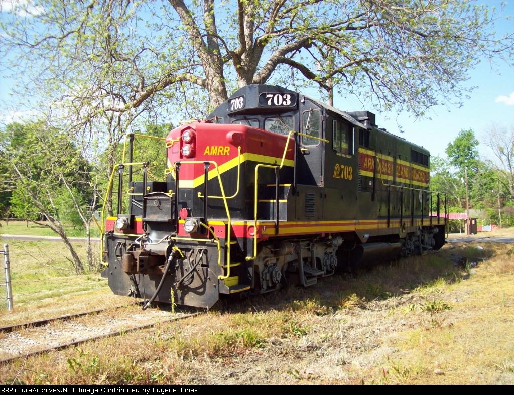 Arkansas Midland Railroad 703